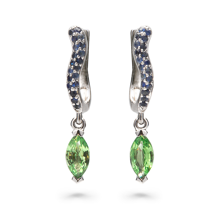 Olive Marquis Earrings