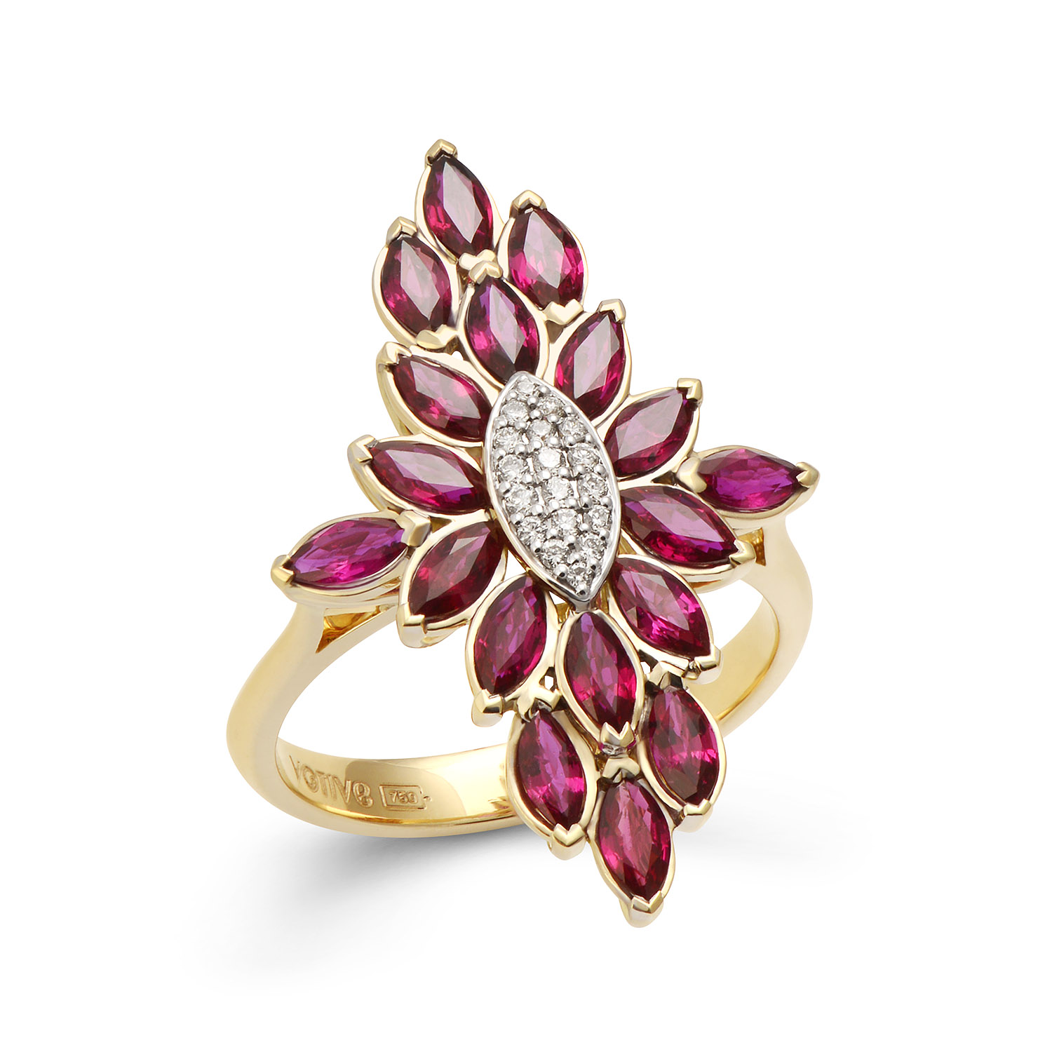 Fortune Flame Ring (Radiant Rose)